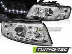 Přední světla Audi A4 B6 Cabrio LED chrom