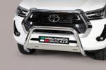 Nerezový přední ochranný rám 63mm Toyota Hilux VIII 2020 facelift