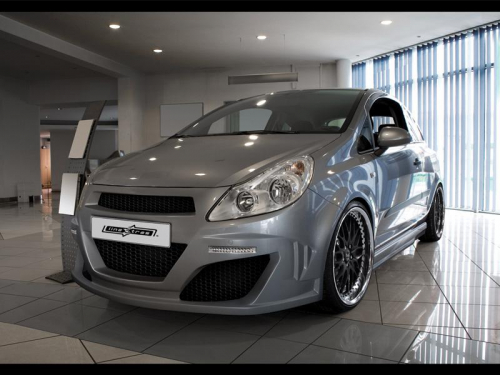 Body kit Ferocious Opel Corsa D