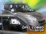 Deflektory-ofuky oken Opel Combo D