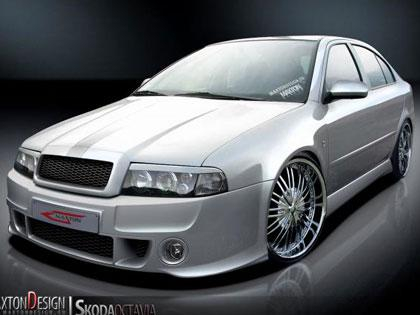 Body kit TOP Škoda Octavia