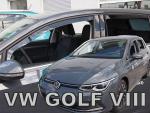 Deflektory-ofuky oken Volkswagen Golf VIII 5 Dvéř. (+zadní)