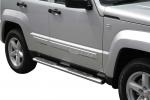 Nerez boční oválné nášlapy Jeep Cherokee KK